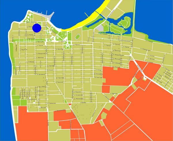 Карта-схема города-курорта Анапа