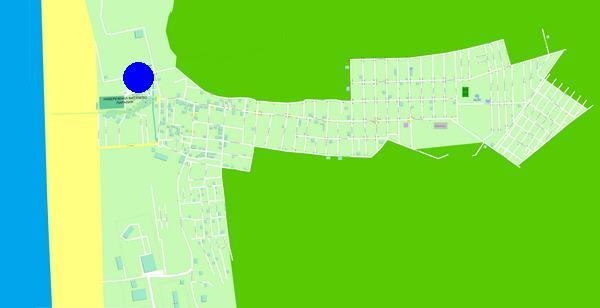 Карта-схема курортного поселка Витязево